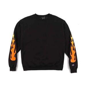 Kendall & Kylie Sweaters - Rare Kylie Shop Black Flame Crewneck